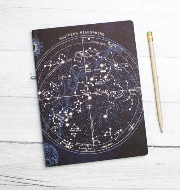 Constellations Softcover Notebook - Lined