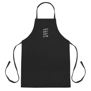 ANTI DIET CLUB COOKING APRON