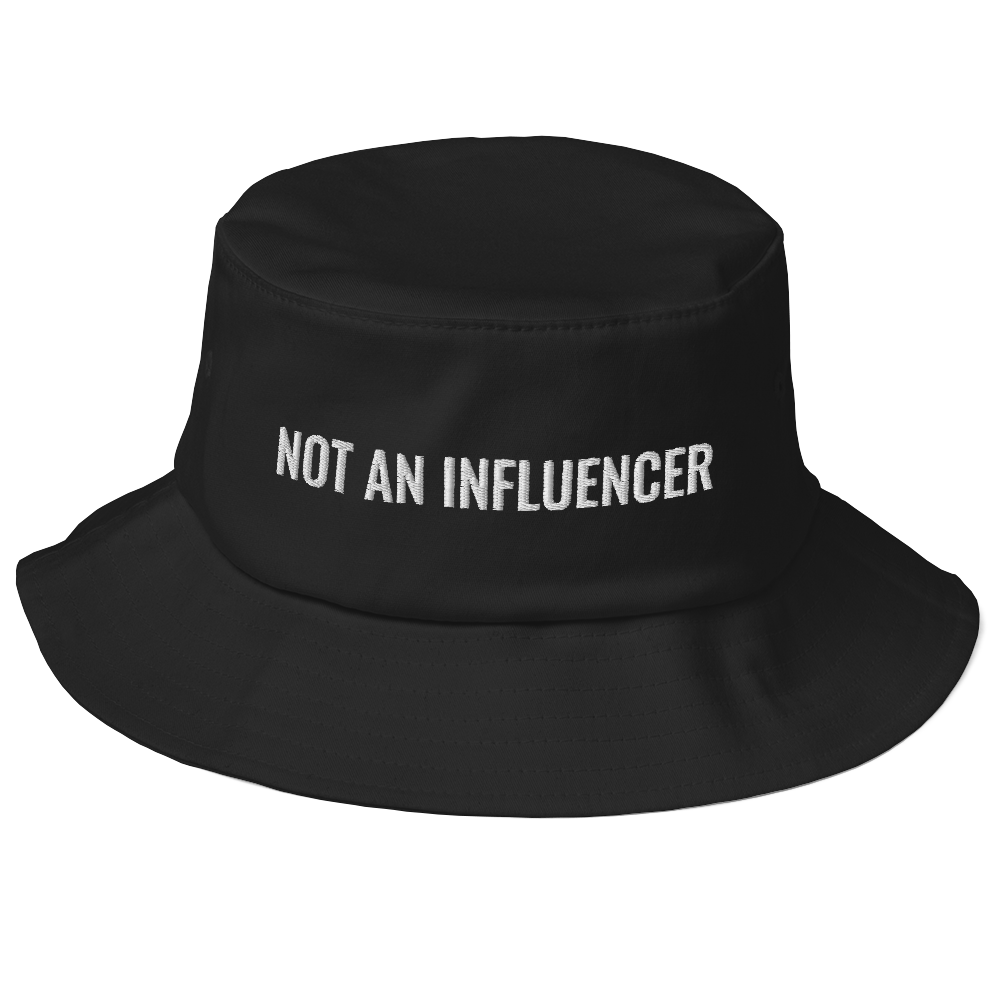 INFLUENCER BUCKET HAT