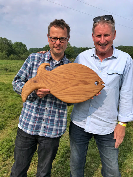 Hugh Fearnley-Whittingstall at River Cottage HQ