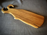 Unique, whale shaped cutting or serving board hand crafted from English Oak made in Devon.