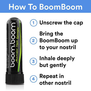 BoomBoom - Melon Drop Natural Energy Inhaler - No Rocketscience BV