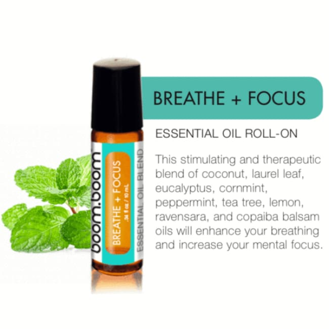 Breathe + Focus Roller - Essential Oil Roller