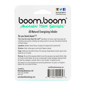 BoomBoom - Wintermint Natural Energy Inhaler - No Rocketscience BV