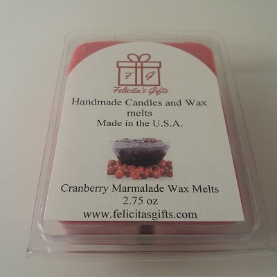 Cranberry Marmalade 2.75 oz Scented Wax Melt