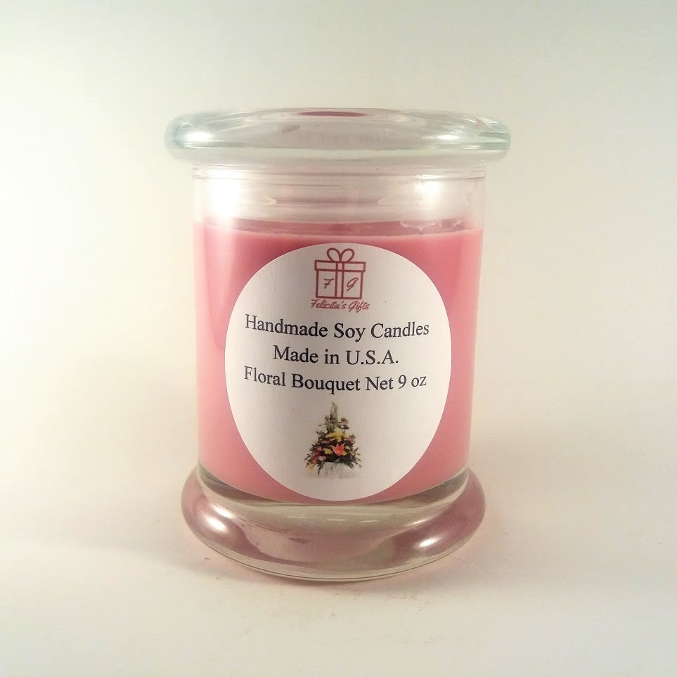 Floral Bouquet Scented 9 oz Candle