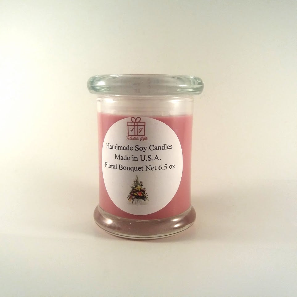 Floral Bouquet Scented 6.5 oz Candle