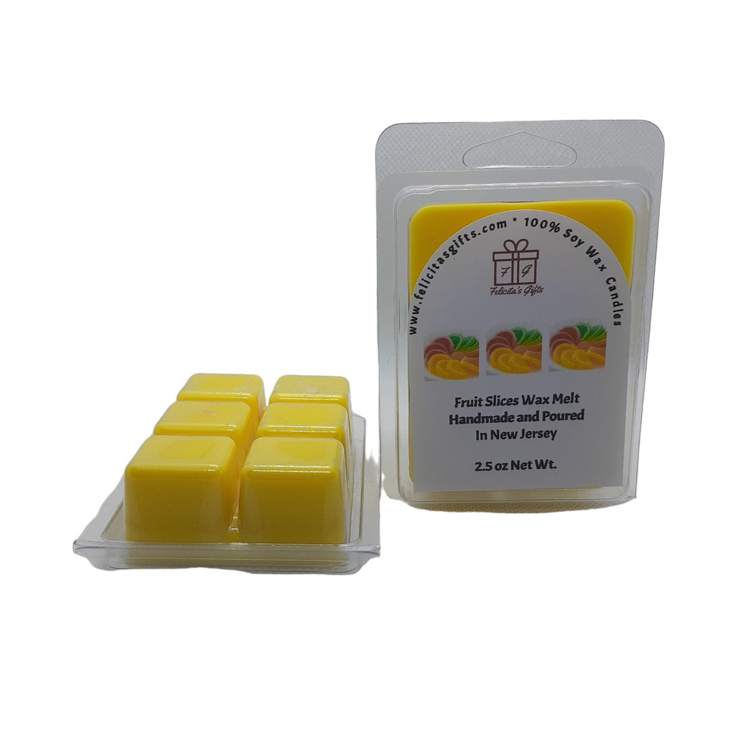 Fruit Slices fragrance oil is a mouthwatering array of citrus fruits and grapefruit.