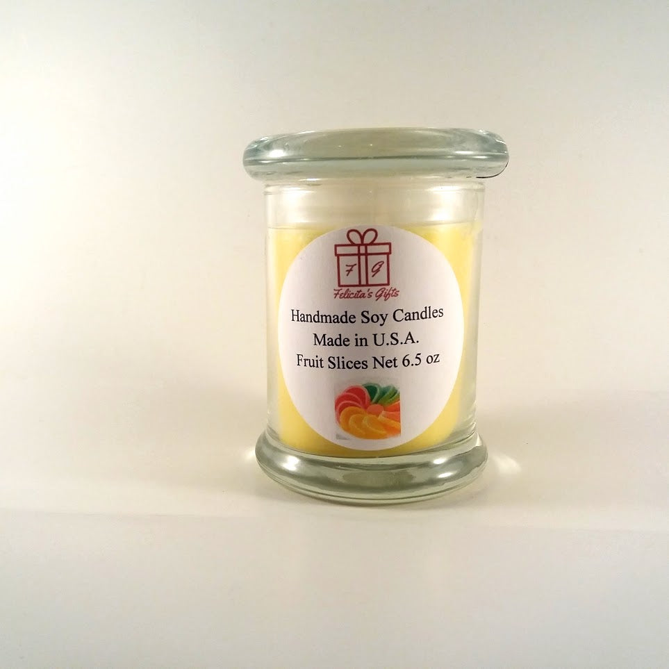 Fruit Slices Scented Soy Wax 6.5 oz Candle