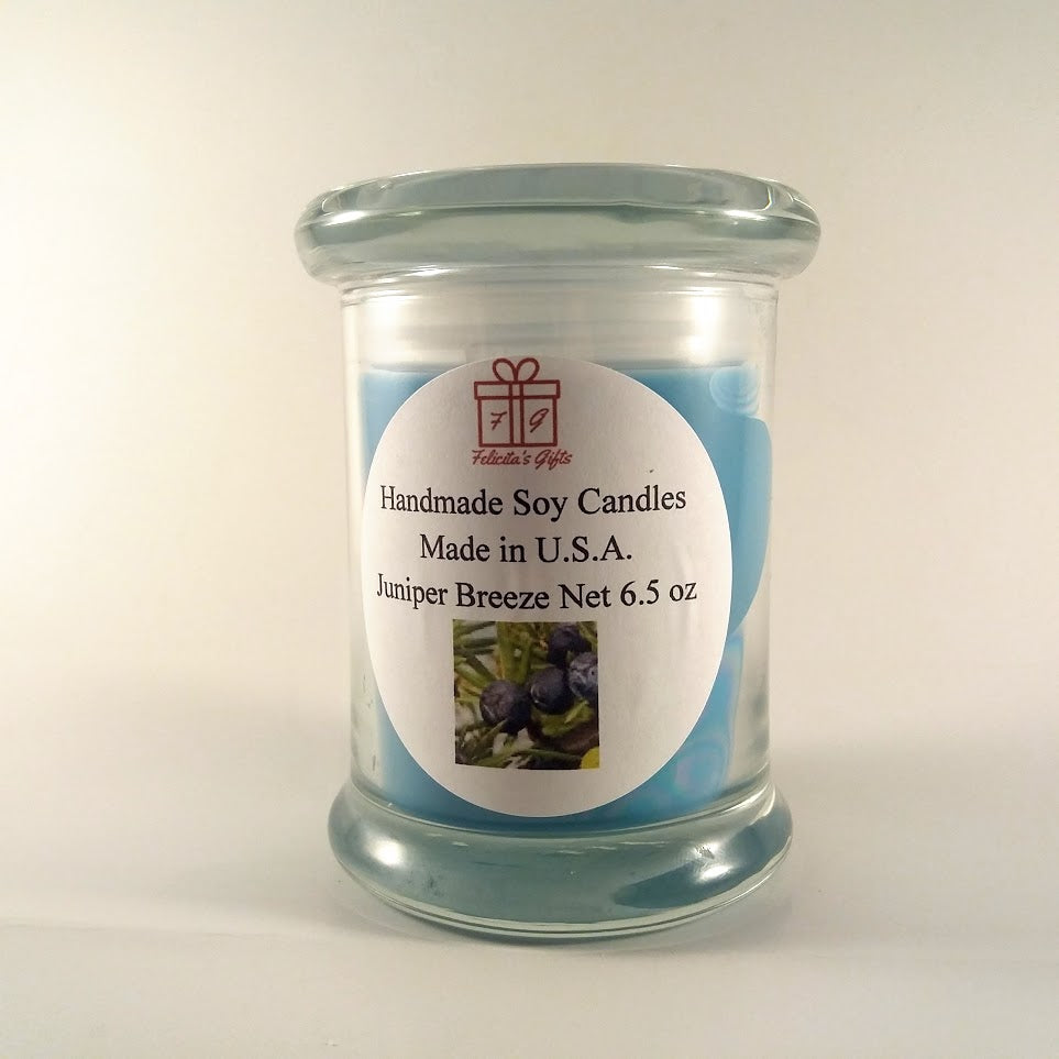 Juniper Breeze Scented Soy Wax 6.5 ozCandle