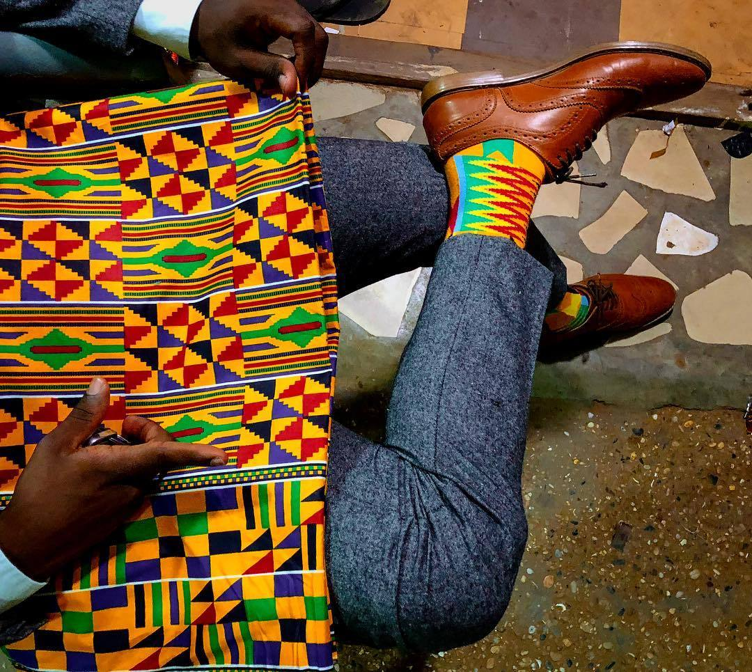 Kente Cloth - Our Afrisocks inspiration