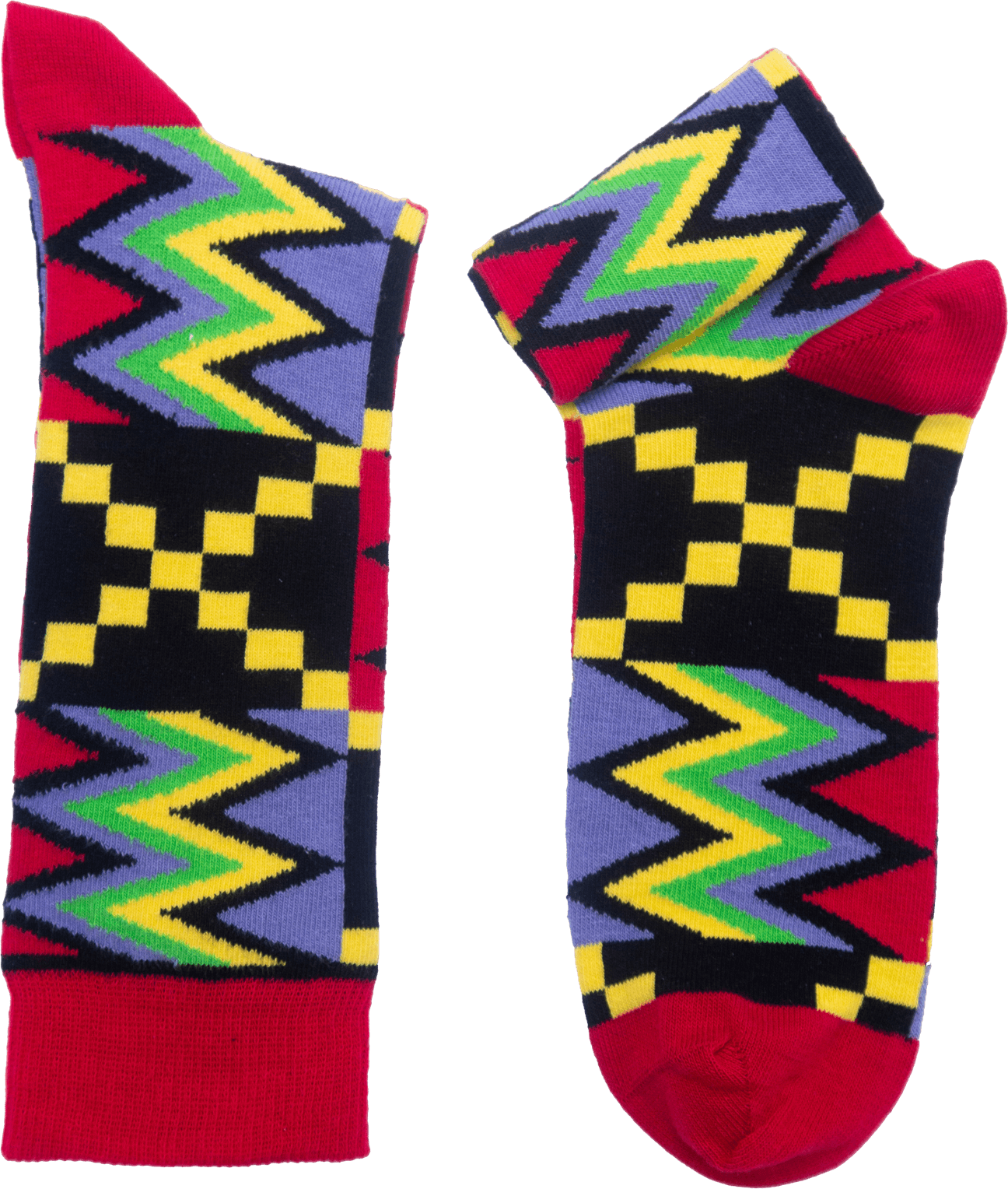 Africa Kente socks Na Wash