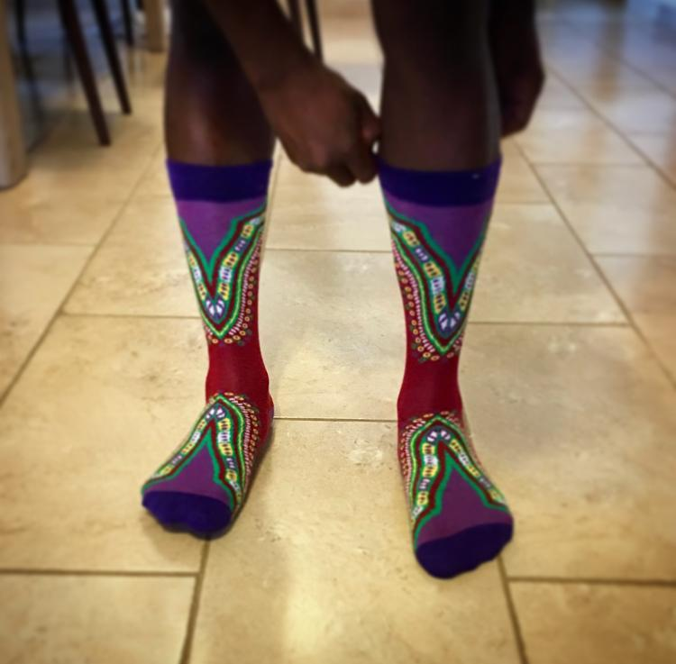 Socks - Burkina