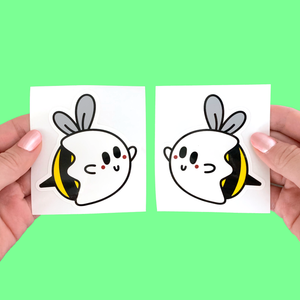BOO BEES DECAL STICKERS
