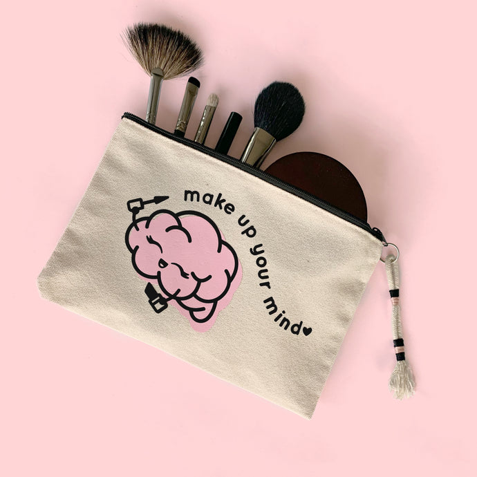 MAKE UP YOUR MIND MAKEUP BAG