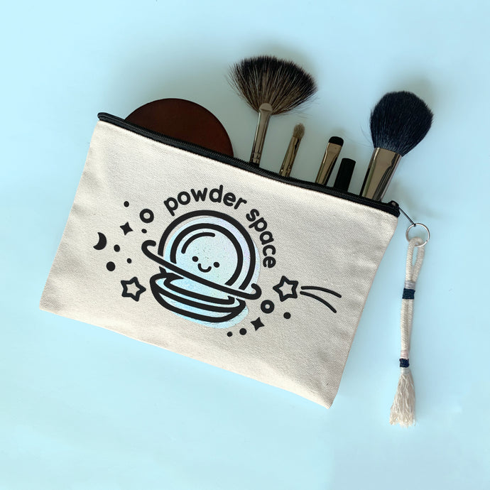 POWDER SPACE MAKEUP BAG