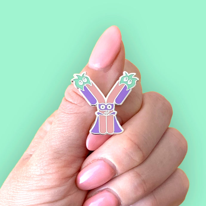 ANTIBODY SUPERHERO PIN - More Colors