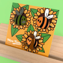 Load image into Gallery viewer, BEE HIVE TRIO PIN SET