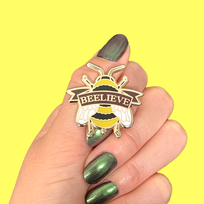 BEELIEVE PIN