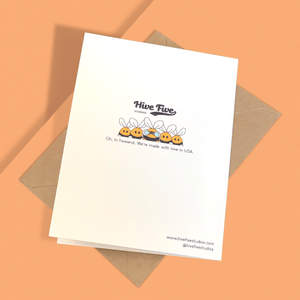 HOW YOU GET IN DEM GENES PERSONALIZED CARD - Free Shipping