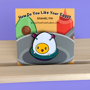 EGGSTRATERRESTRIAL PIN