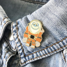 SPACED-OUT YETI PIN