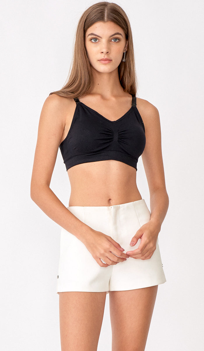 INGRID NURSING BRA BLACK
