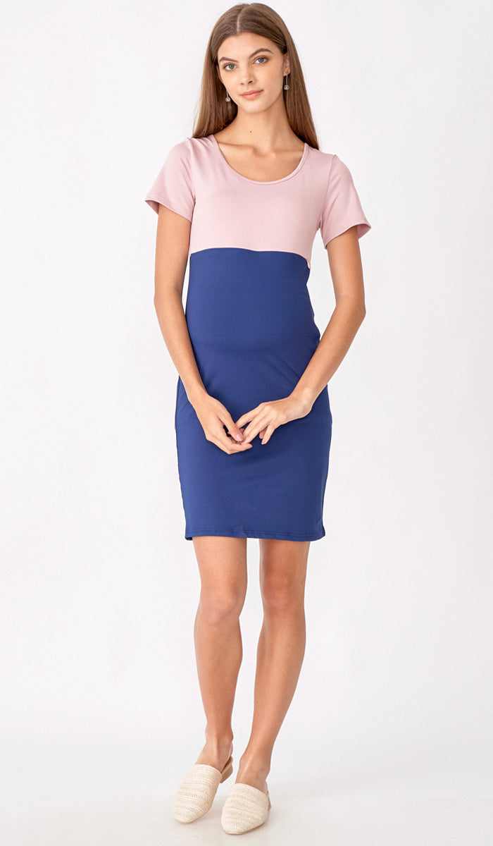 SALE - TAYLOR COLORBLOCK DRESS