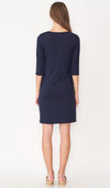 SALE - AVERY SHIFT DRESS NAVY