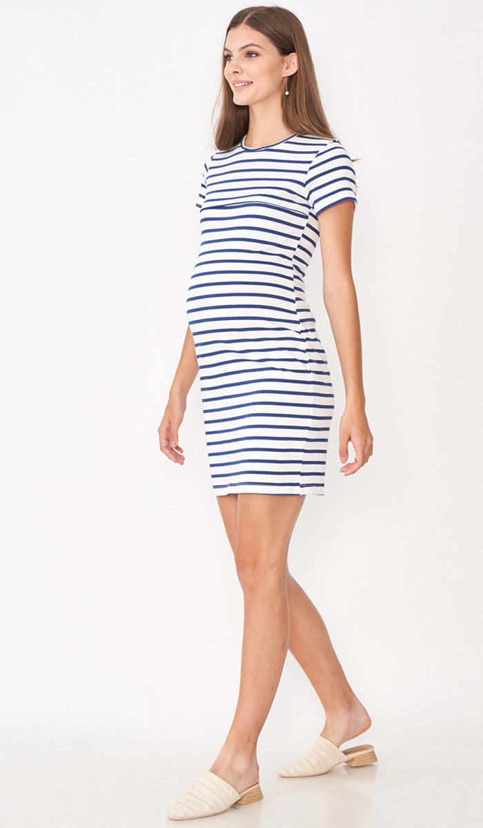 HARLEY STRIPED BODYCON DRESS