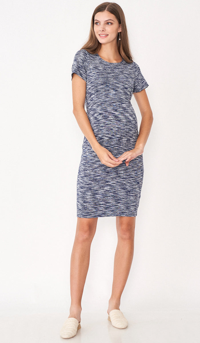 JEMMA BODYCON DRESS BLUE