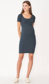 SALE - LUNA KNIT BODYCON DRESS GREY