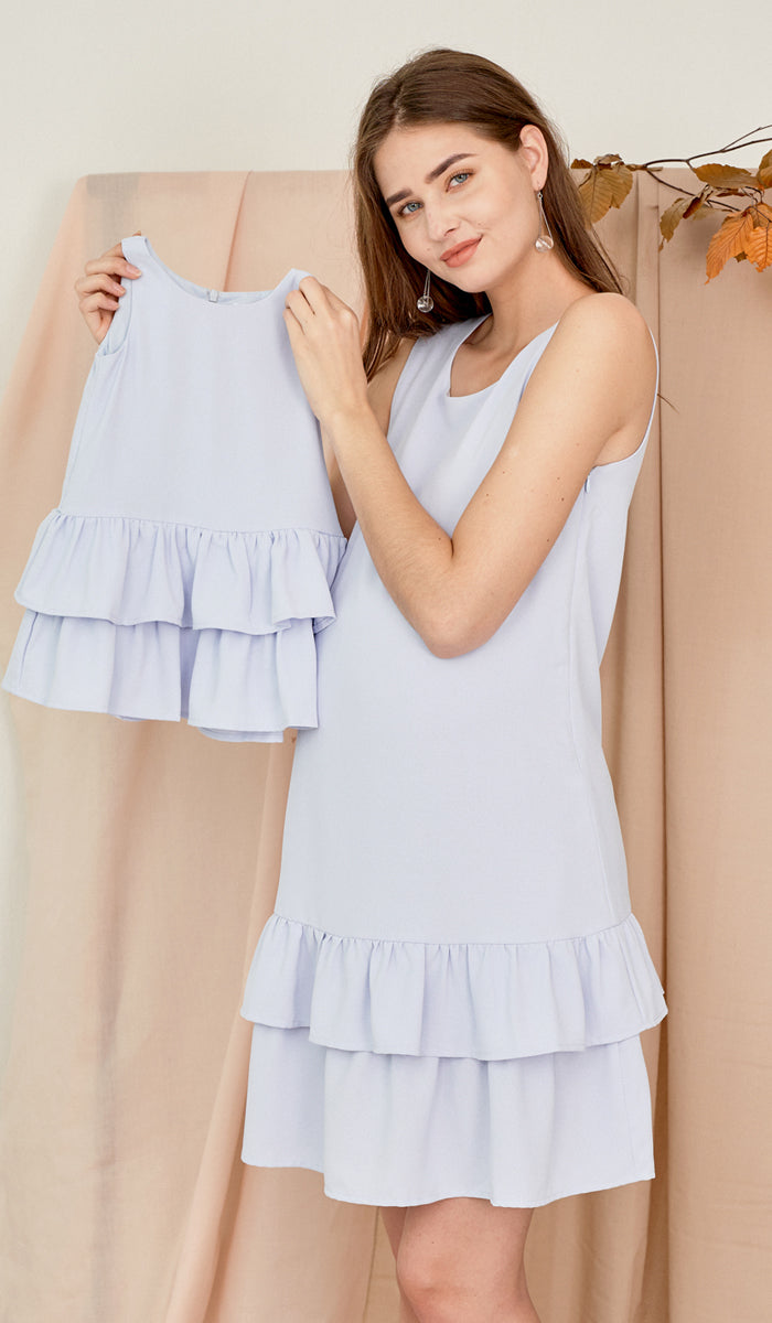 SILVY KIDS DRESS SKY BLUE