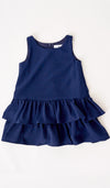 SALE - SILVY KIDS DRESS NAVY