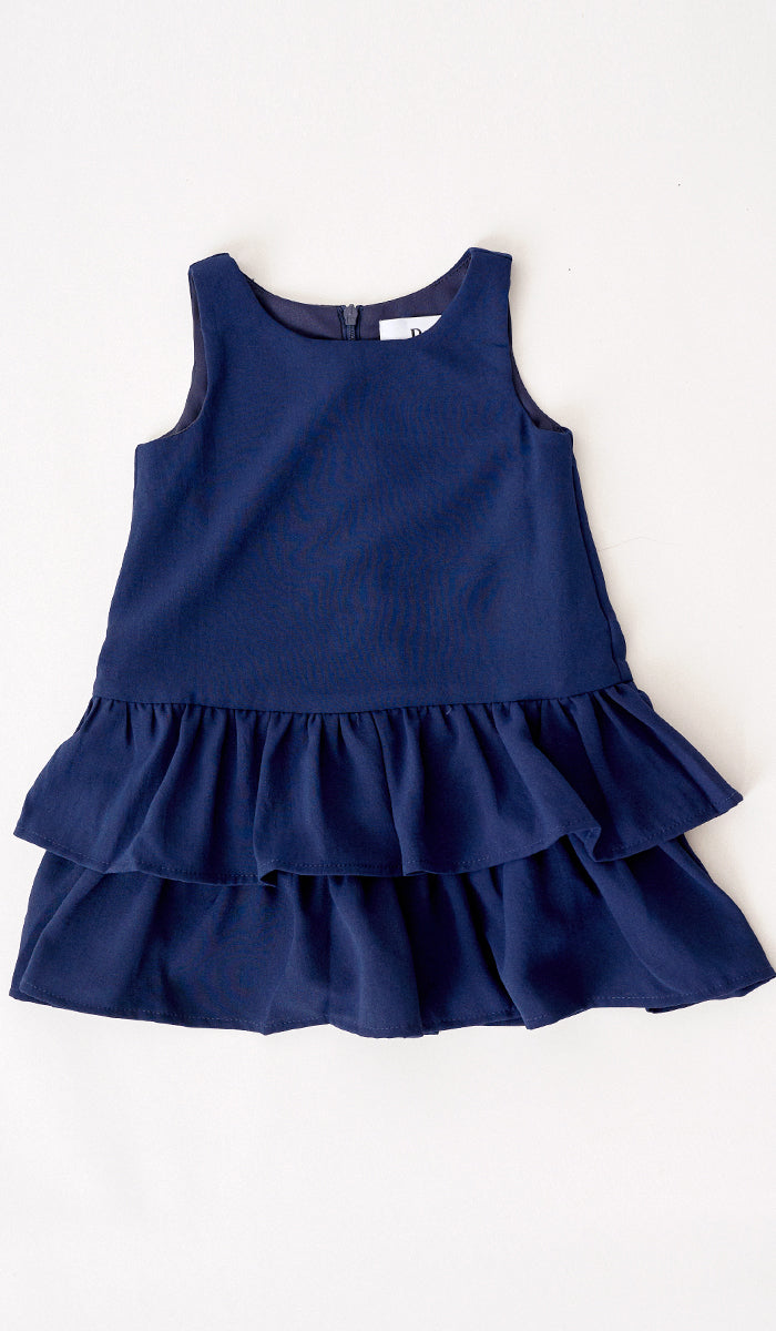SILVY KIDS DRESS NAVY