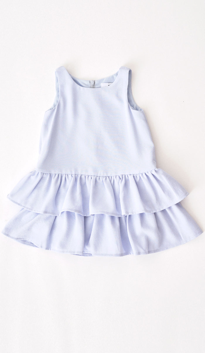 SILVY MINI DRESS SKY BLUE