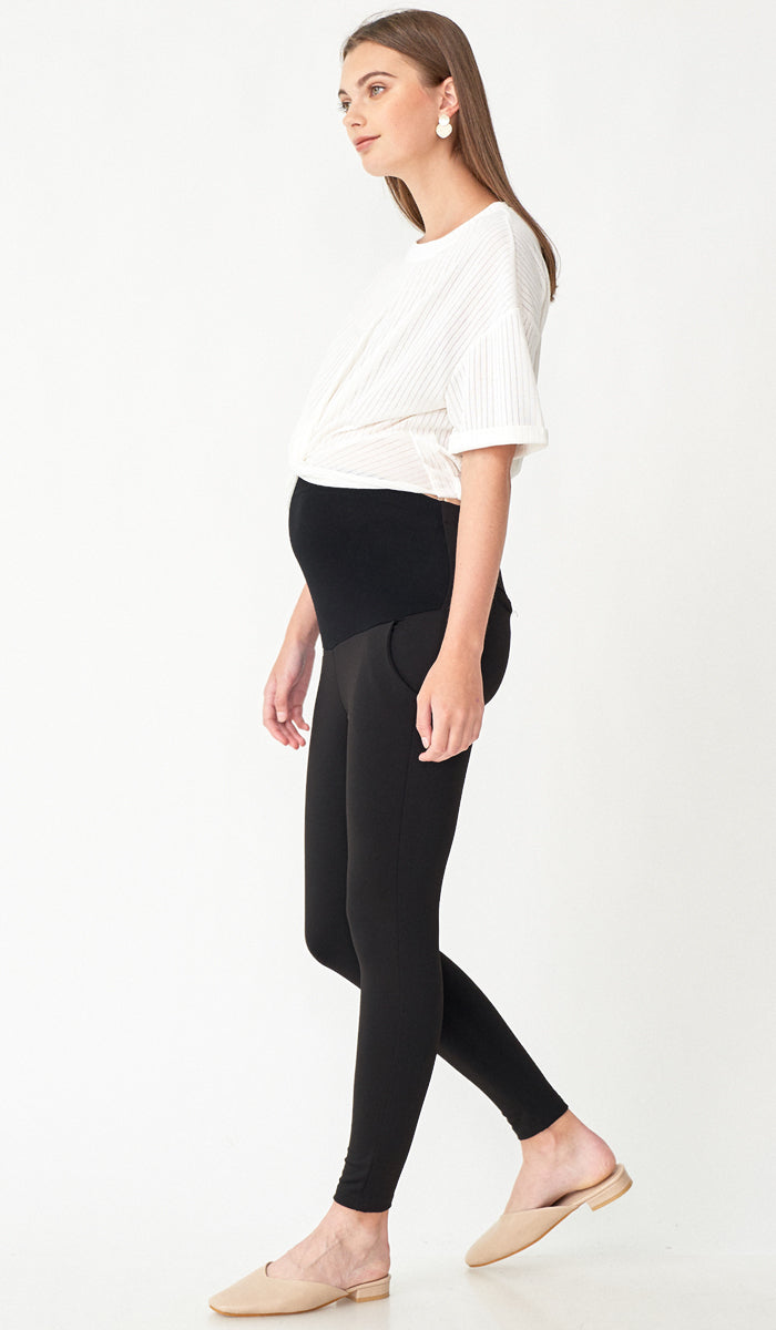 ALEXA TAPERED MATERNITY PANTS