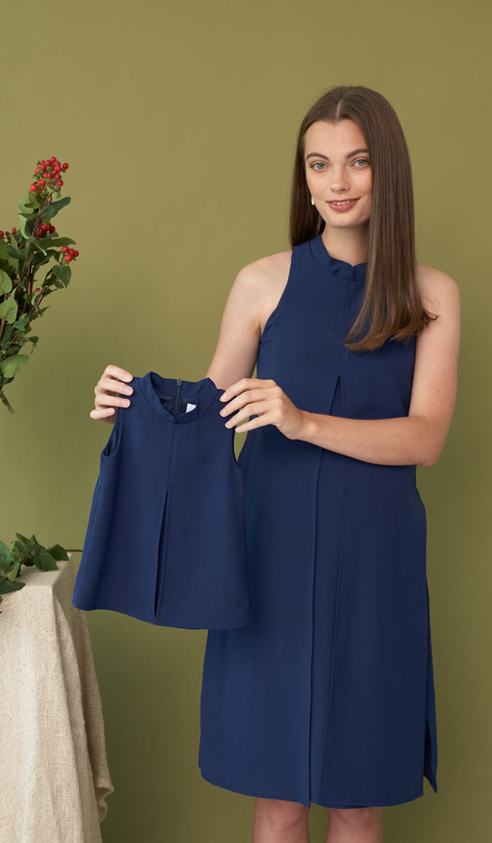 CANDYCE MINI DRESS NAVY