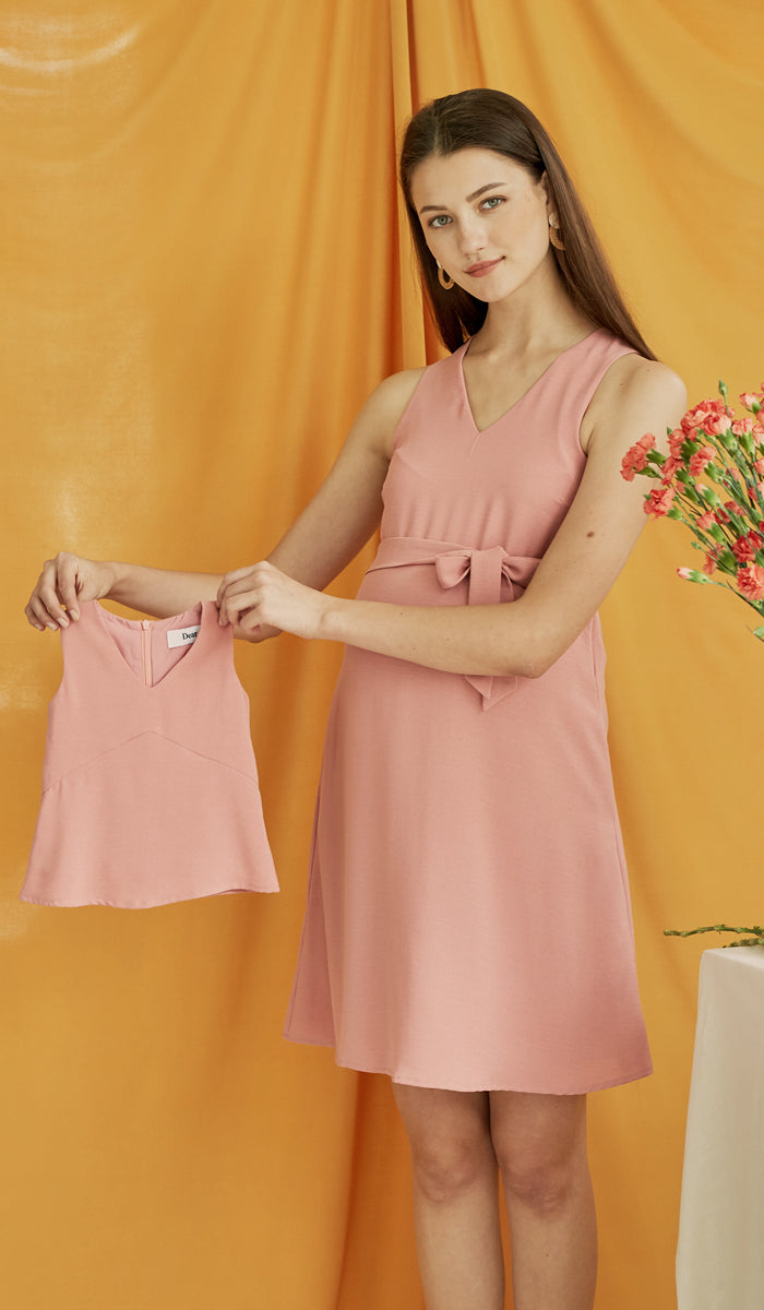 CASSA MINI DRESS PINK