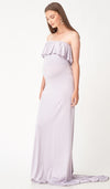 ISABEL MULTI WEAR MATERNITY MAXI DRESS LILAC GREY