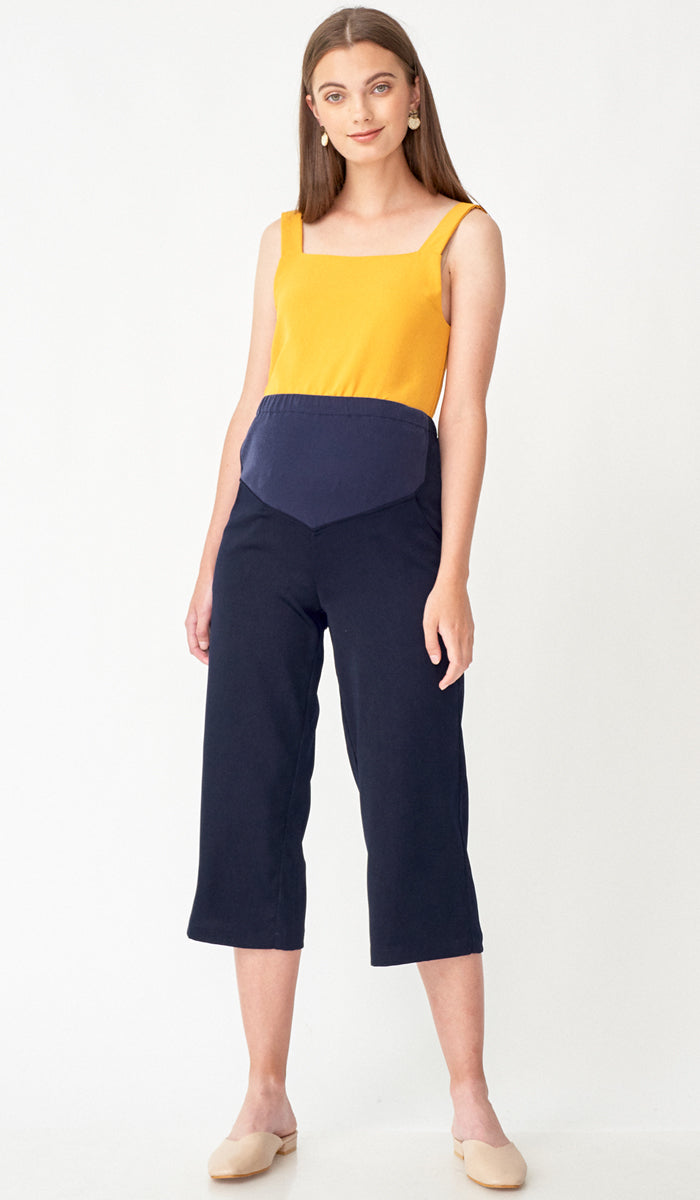KAREN MATERNITY PANTS NAVY