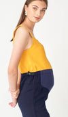 SALE - KAREN MATERNITY PANTS NAVY