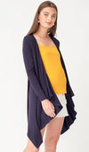 LARELLE 2-WAY NURSING COVER CARDIGAN NAVY