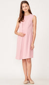 SALE - TARA NURSING VEST DRESS PINK