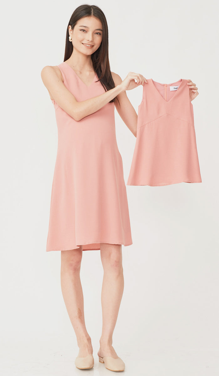 SALE - CASSA KIDS DRESS PINK