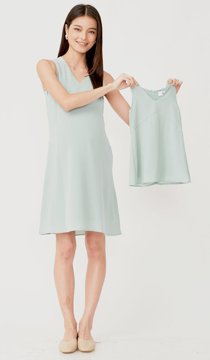 SALE - CASSA KIDS DRESS JADE
