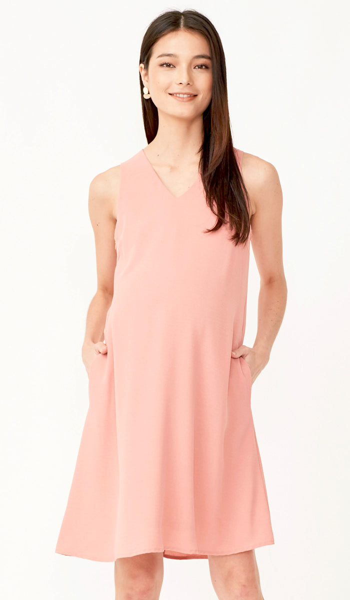 KYRA NURSING DRESS PINK