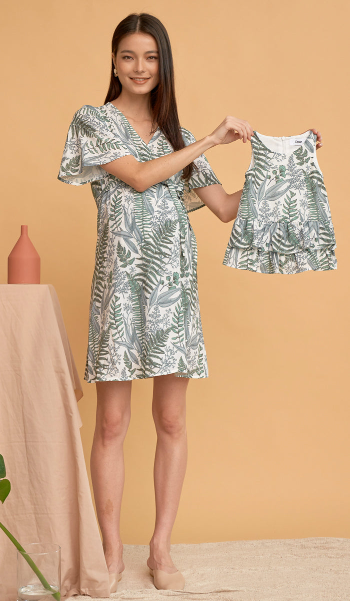 LARA KIDS DRESS FERN