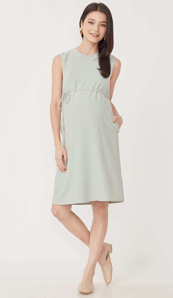 MIRA NURSING DRESS MINT