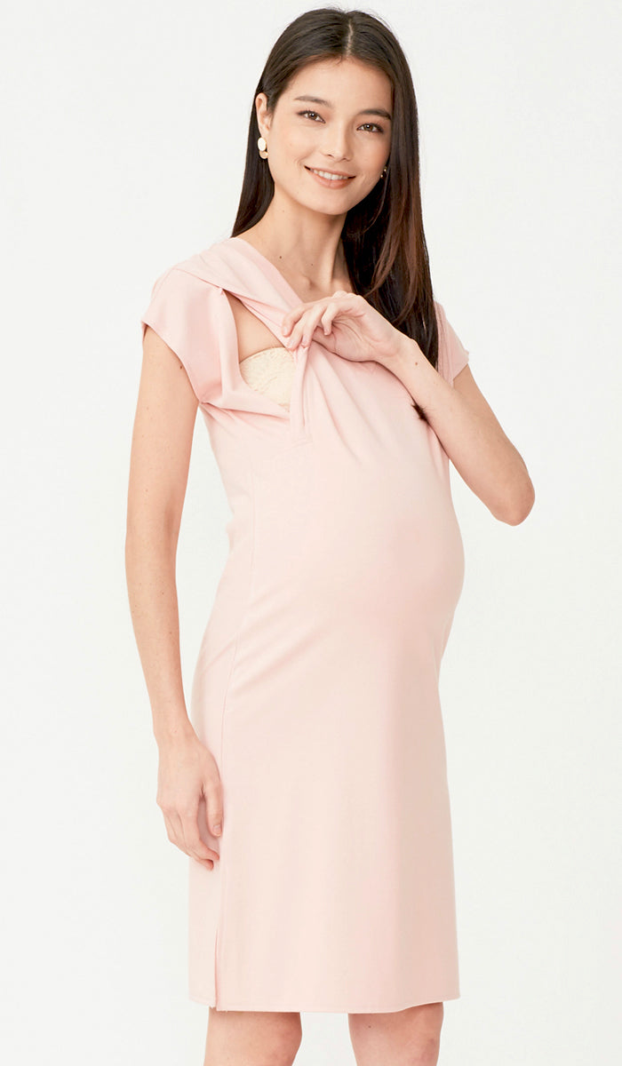 SALE - RAVEN SHIFT DRESS PINK